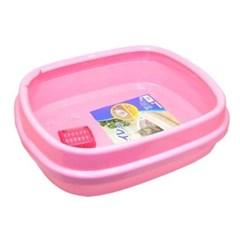 고양이화장실 아이리스 화장실 핑크 550