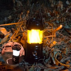 3가지모드 LED 캠핑 호롱불 랜턴