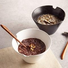 라면 국수 우동 세라믹 하우스 면기 그릇 (2color)