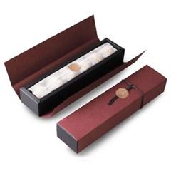 큐어리스 메탈릭 브론즈 초콜릿 6구 상자 (4set)