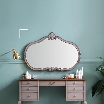 수입 엔틱가구 RG 22 와이드 그레이 벽걸이 거울