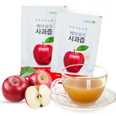 신선한 새콤 과일음료 사과즙 사과주스 착즙 (100ml)