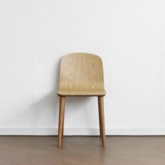 [오크] H형 의자 내츄럴_(1693374)