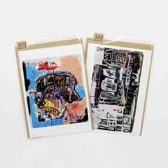 [롯데뮤지엄] 바스키아-엽서+봉투 모음