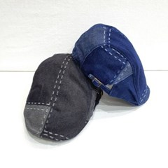 스티치 챙넓은 꾸안꾸 데일리 패션 베레모 모자