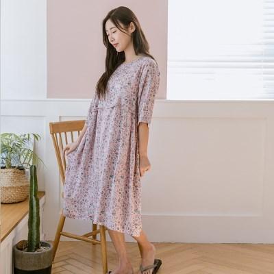 동화 모달 원피스(핑크)