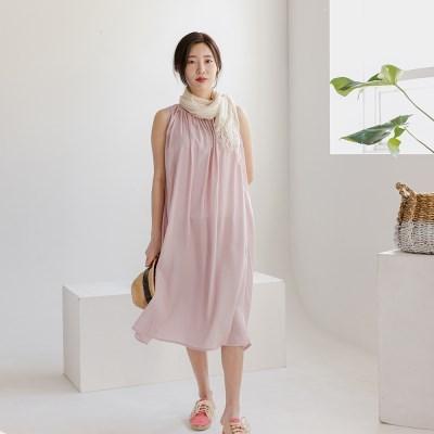 하란 모달 원피스(핑크)