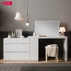 이오스 수납 화장대+책상(거울 포함)