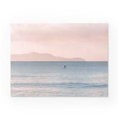 인테리어 패브릭 포스터_오후의 바다