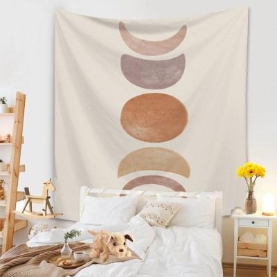 태피스트리 벽장식 패브릭포스터 - 베이직 문싸이클 (130x150cm)