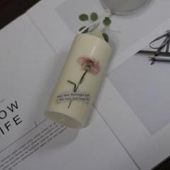 8월 탄생화향초캔들 수레국화향초 기념일선물 생일선물 캔들선물
