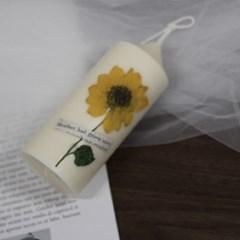 7월 탄생화향초캔들 해바라기향초 기념일선물 생일선물 캔들선물