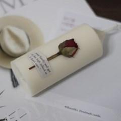 6월 탄생화향초캔들 장미향초 기념일선물 생일선물 캔들선물
