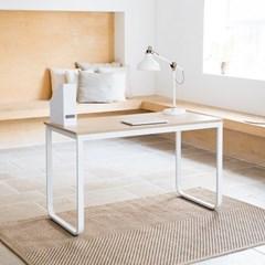 옴므 라운딩 철제 책상 테이블 1200  프레임&상판 색상 선택