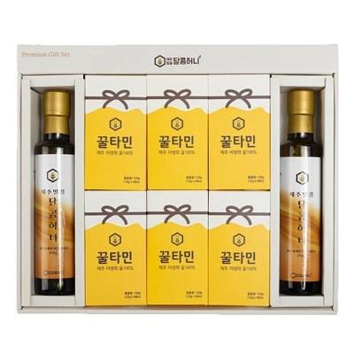 꿀타민 제주도 야생화벌꿀 스틱형 달콤허니1호