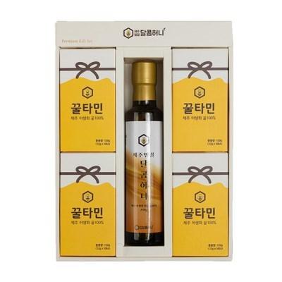 꿀타민 제주도 야생화벌꿀 스틱형 달콤허니3호