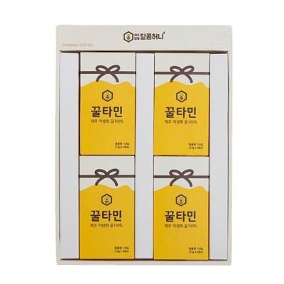 꿀타민 제주도 야생화벌꿀 스틱형 달콤허니5호
