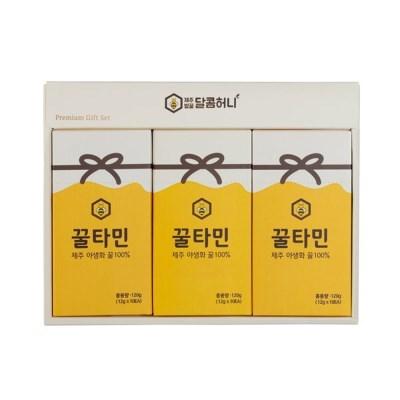 꿀타민 제주도 야생화벌꿀 스틱형 달콤허니6호