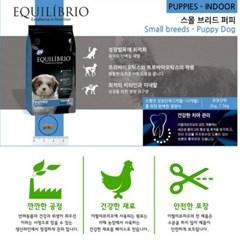 개 애견 강아지사료 이퀼리브리오 독 스몰 퍼피 2kg