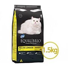 고양이 이퀼리브리오 롱헤어캣 헤어볼 1.5kg 캣 사료