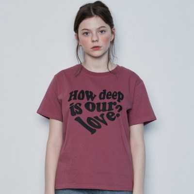 IN LOVE TEE(PINK)_(4389605)