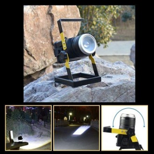 나홀로여행 배터리포함 줌 캠핑랜턴 와이드 LED CREET6
