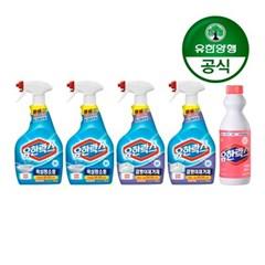[유한양행]유한락스 욕실청소 650mL 2개 + 곰팡이제거 6_(2616736)