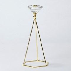 [모던하우스] 다이아몬드 캔들홀더 H23cm
