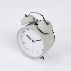 [모던하우스] 트윈벨 알람시계 라이트그레이