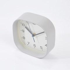 [모던하우스] 라운드스퀘어 투웨이 시계 그레이