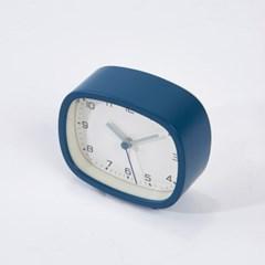 [모던하우스] 심플 스퀘어 알람시계 네이비