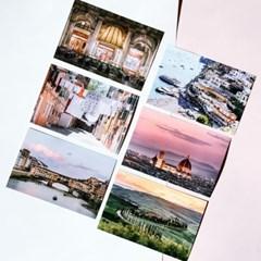 [제미포티] 트래블 여행사진 엽서 이탈리아