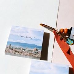 [제미포티] 감성 여행사진 떡메모지 이탈리아