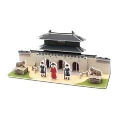 모또 조선의 궁 광화문 입체퍼즐 만들기