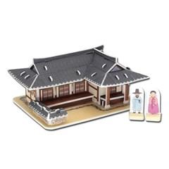 모또 기와집 전통가옥 입체퍼즐 만들기