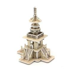 모또 신라문화 다보탑 입체퍼즐 만들기