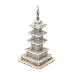 모또 신라문화 석가탑 입체퍼즐 만들기