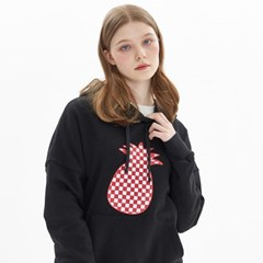 CHESS CHECK HOODIE_BLACK