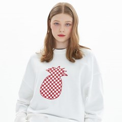 CHESS CHECK SWEATSHIRT_IVORY