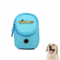강아지 배변봉투 가방 블루