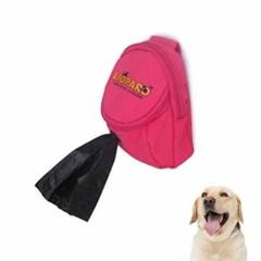 강아지 배변봉투 가방 핑크