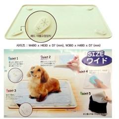 고양이 위생시트 타키 애견화장실 패드고정 고무깔판