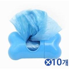 휴대용 배변봉투 색상랜덤발송x10개 산책필수품