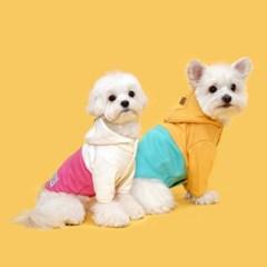 플로트 아노락후드 강아지옷 2종