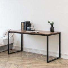 프리모 철제 책상 다용도 테이블 1500 블랙 화이트