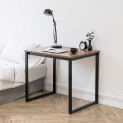 프리모 철제 책상 다용도 테이블 800 블랙 화이트