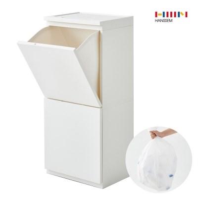 한샘 컴포트 2단 분리수거함 80L 전용봉투 (50매)