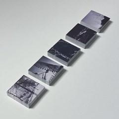 모노크롬 스티커 / Monochrome Sticker