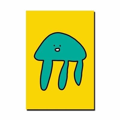 [눙눙이] 해파리 해롱이 엽서