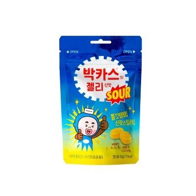 박카스맛 젤리 신맛 50g 10개 세트_(2460693)